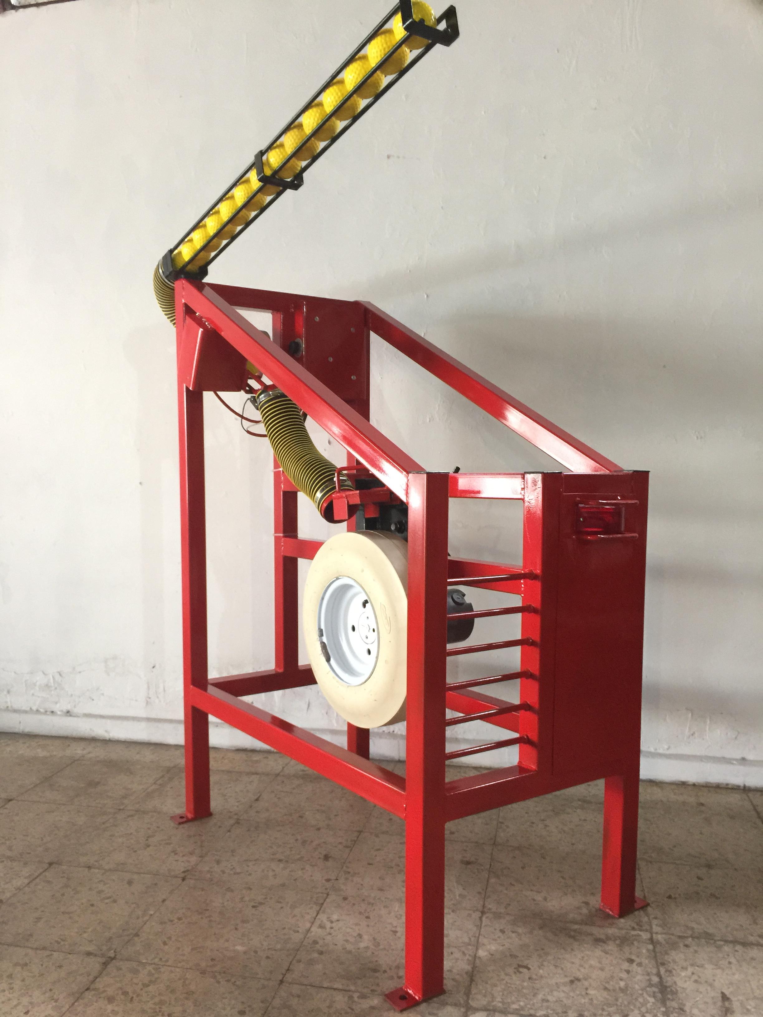 fast pitch pitching machine